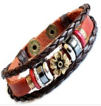 cheap leather rope bracelets
