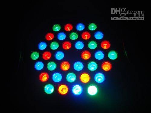 Multi-Color Change Outdoor/Indoor 36PCS3W LED PAR Light
