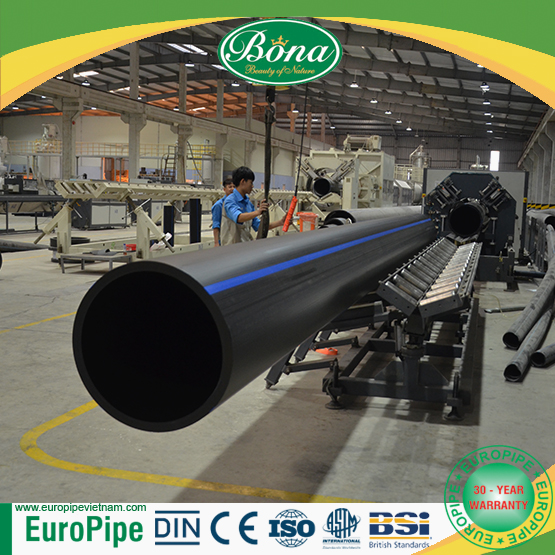 [EUROPIPE]For sale PN 8 HDPE pipe and fitting with the size of D40