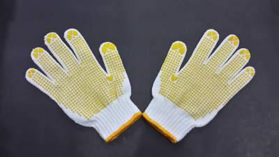 PVC Dotting Gloves