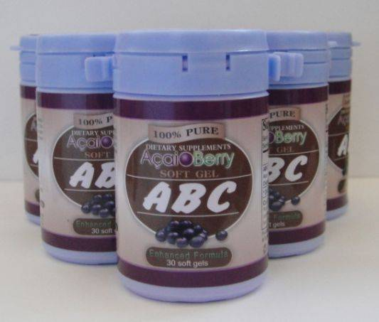 Herbal Weight Loss Natural ABC Acai Berry slimming
