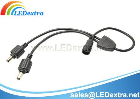 Waterproof DC Power Splitter Cable