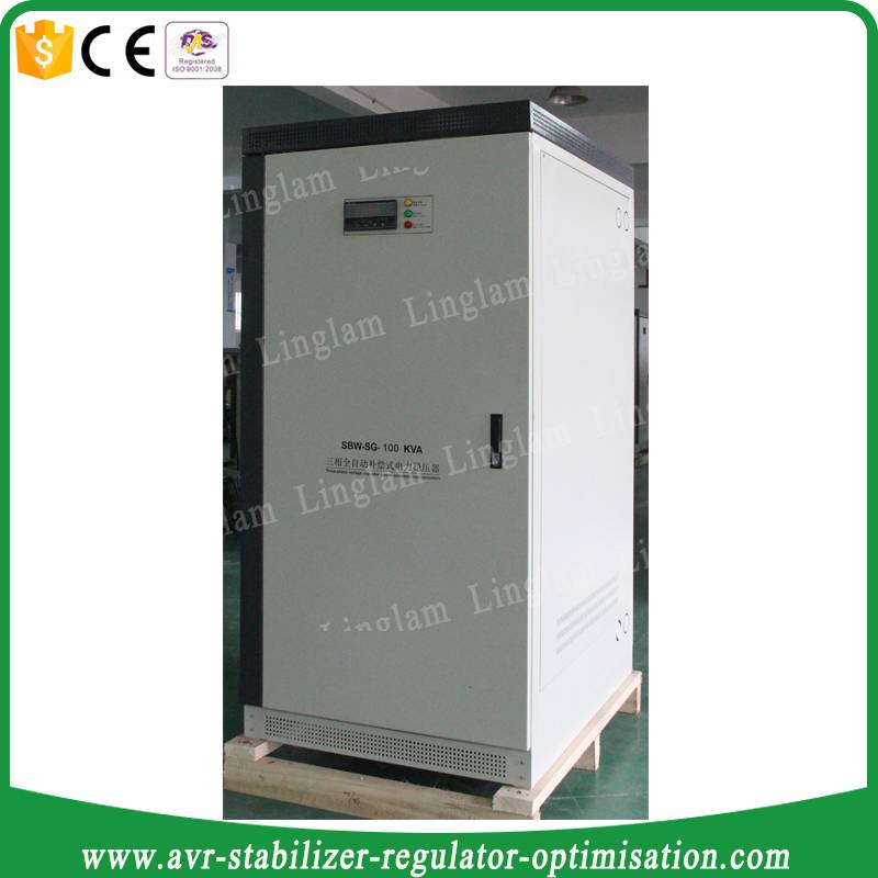 manual bypass energy stabilizer 3 phase 100kva