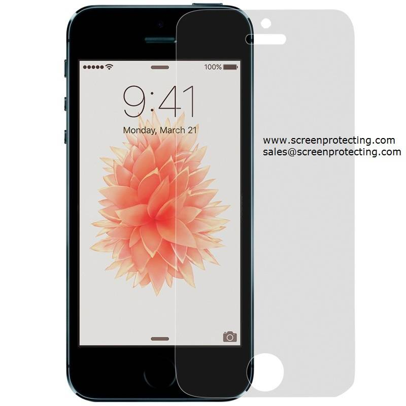 Wholesale 9H Premium Tempered Glass Screen Protector for iPhone SE