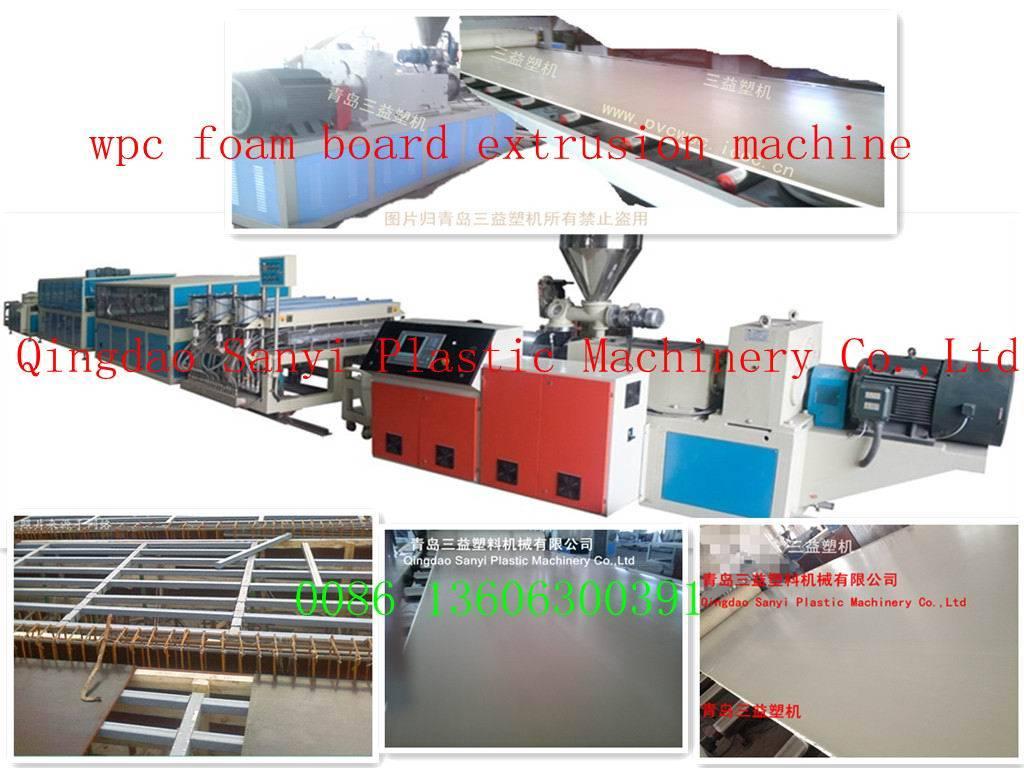 wpc foam board extrusion line