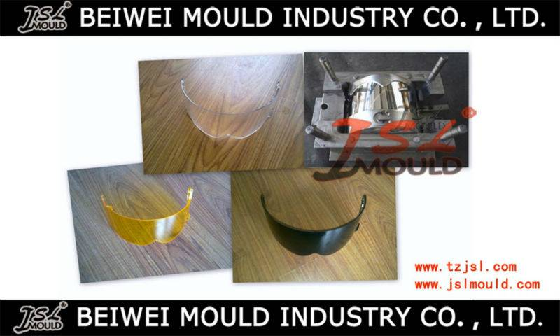 Motorcycle Helmet Shield Visor Injection Mould