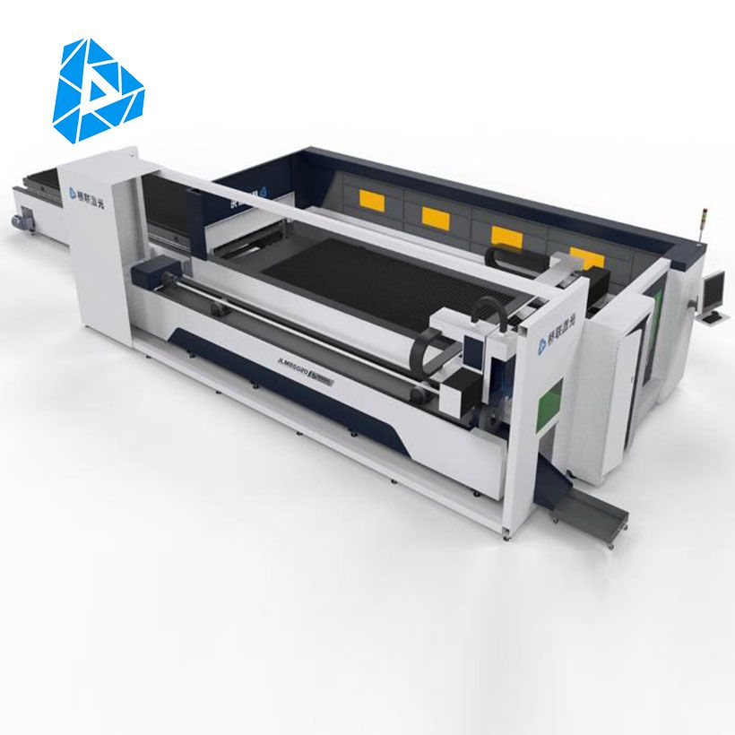 Round/Square tube Exchange table Metal Plate Fiber laser cutting machine
