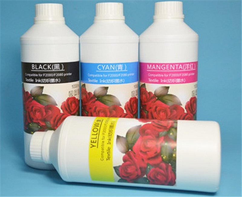 Dupont Material White Pigment DTG Ink for Epson Textile Printing