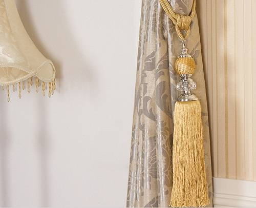 Ch-00043 Curtain tassel tiebacks for Curtain decoration