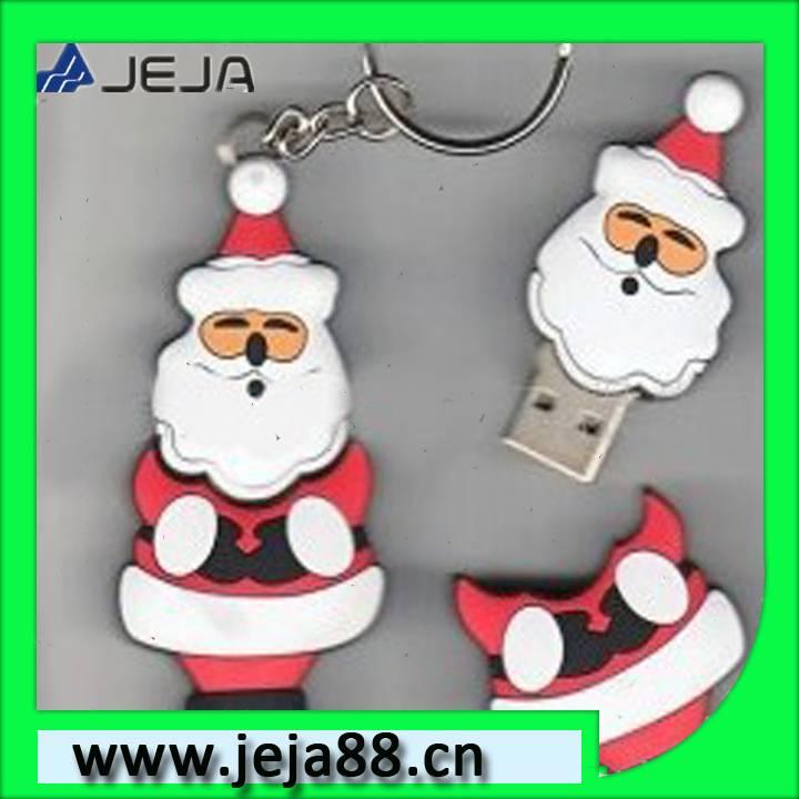 buy u disk with Santa Claus shape
