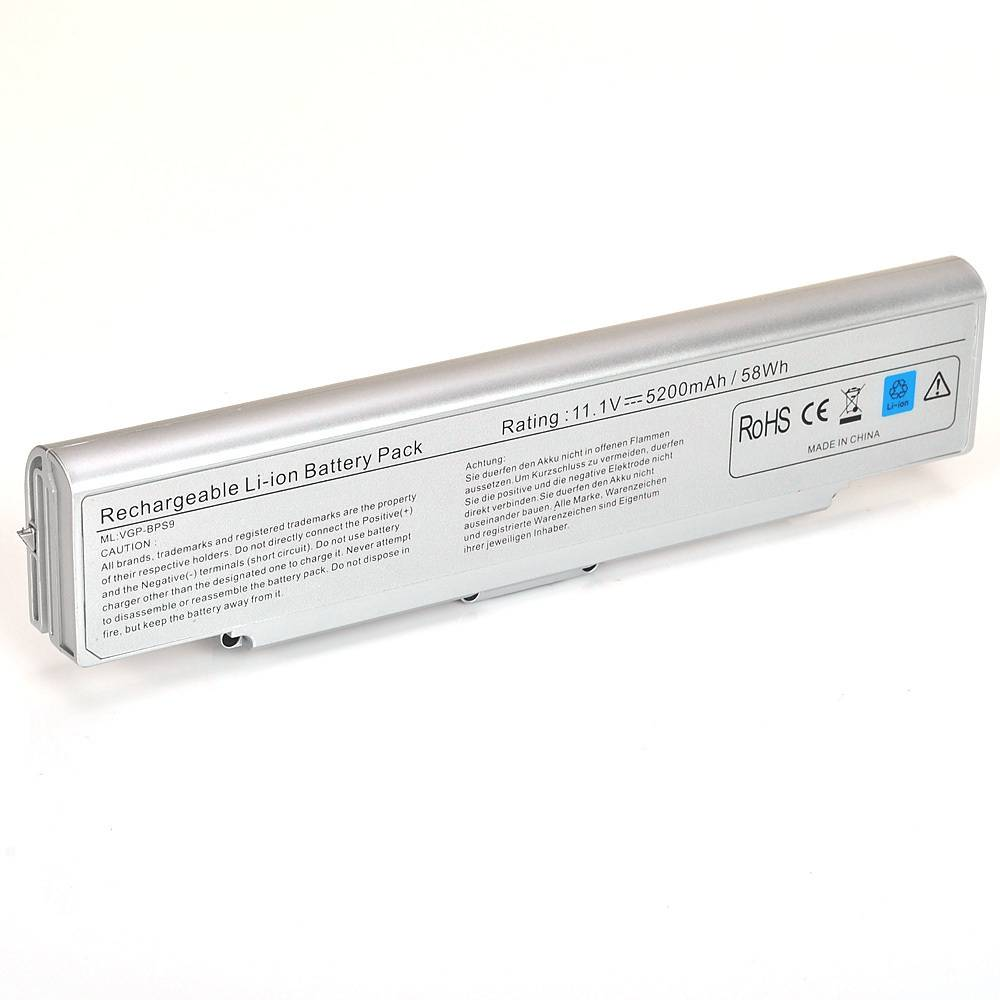 HIgh quality replacment battery for BPS 9 SILVER -6 CELL