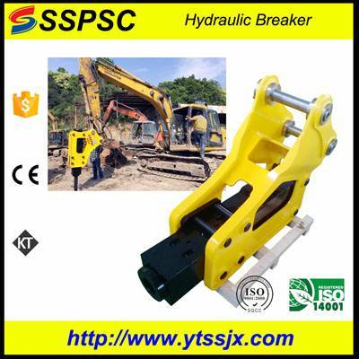 High quality side style demolition hammer SSPSC SB50 excavator backhoe loader skid steer applicable