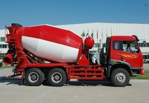 FAW Concrete mixer truck