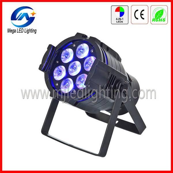 AC90-240V 7 4in1 RGBW Quad color mini led par light