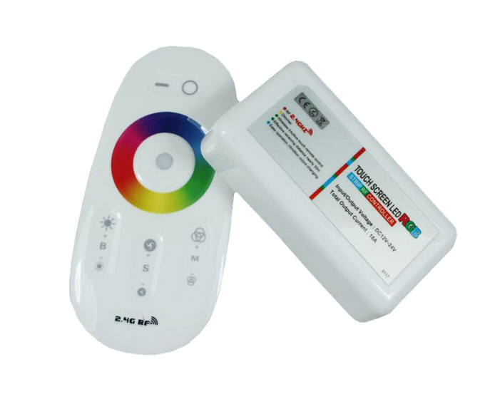 2.4GHz Touch RGBW LED Strip Controller