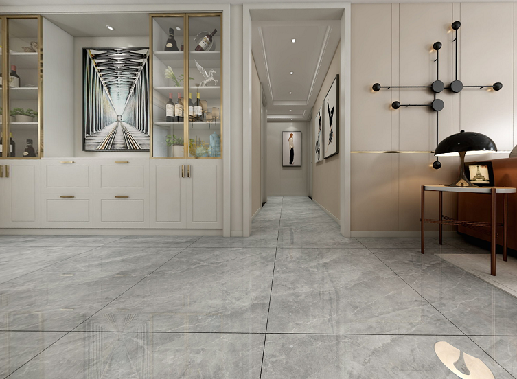 Sold well 6D Inkjet Good qualit Full Marble tiles Flooring Tiles Manufacturer Projects (800x800mm)