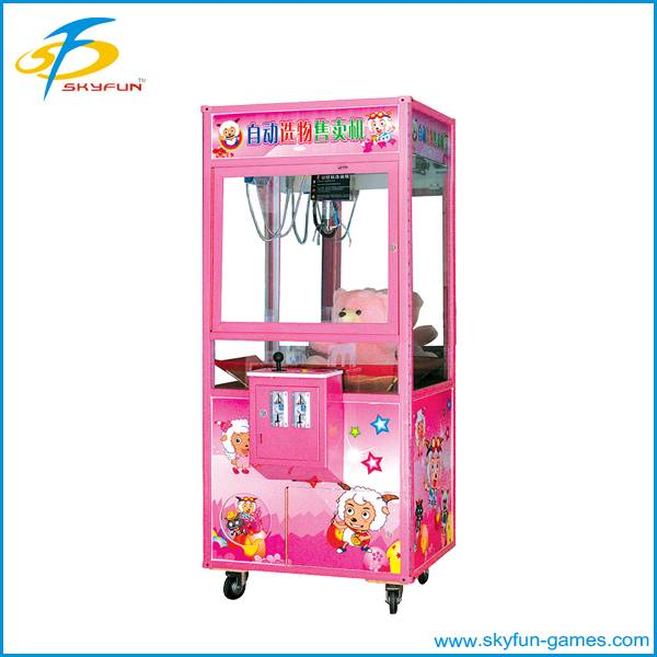 Amusement catch crane game machine