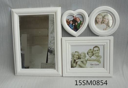 mdf photo frame with mirror