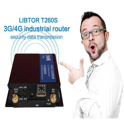 Libtor Industrial Routers T260S series with SIM Card Slot