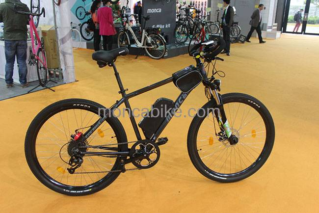 Electric Mountain Bike with Butterfly Handlebar