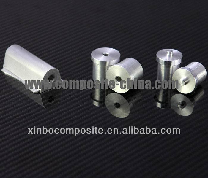 Tube accessories,aluminum Euro thread telescopic pole accessories .aluminum material.