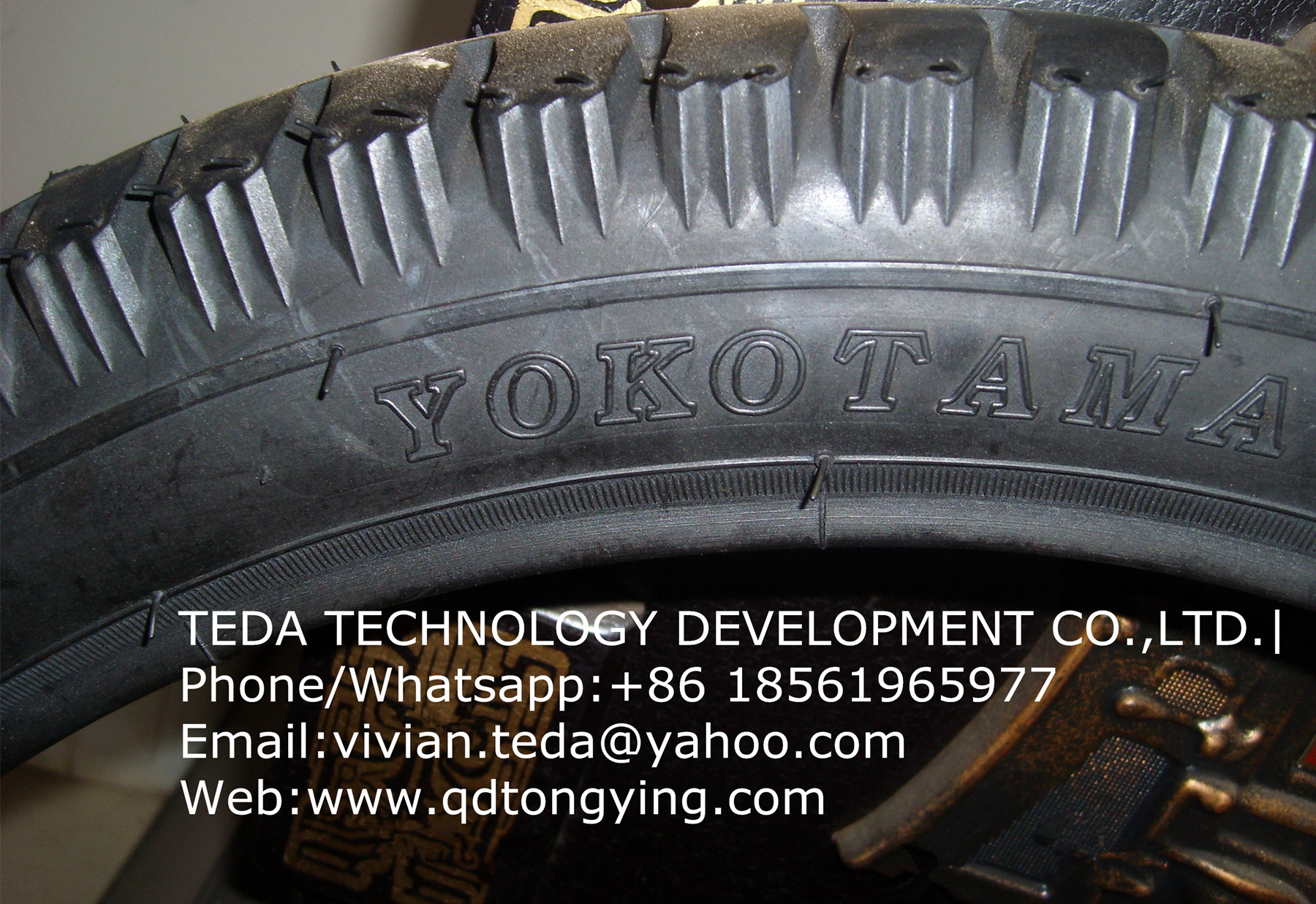YOKOTAMA MOTORCYCLE TIRES