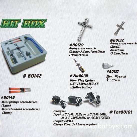 Kit Box For Nitro Car