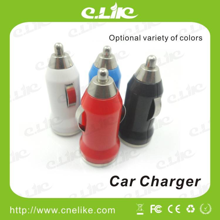 Colorful E-cig USB Car Charger for E-Cigarette as Well as Other Electronic Products