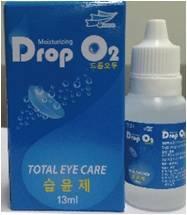 Korean contact lens solution, Drop O2