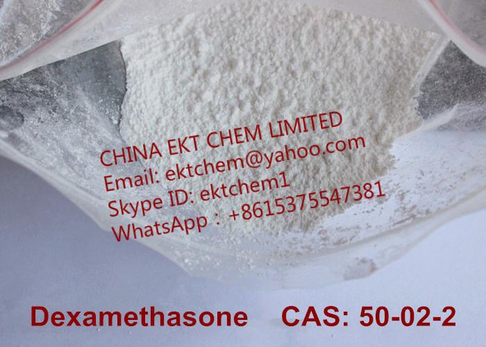 Dexamethasone(DXMS) 99% Purity Medicine Grade API CAS 50-02-2