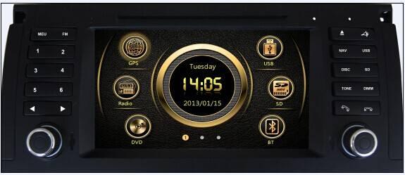 car multimedia for BMW E39