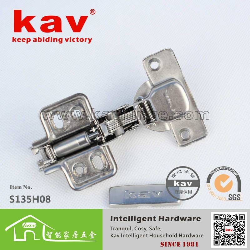 single action soft close cabinet door hinges