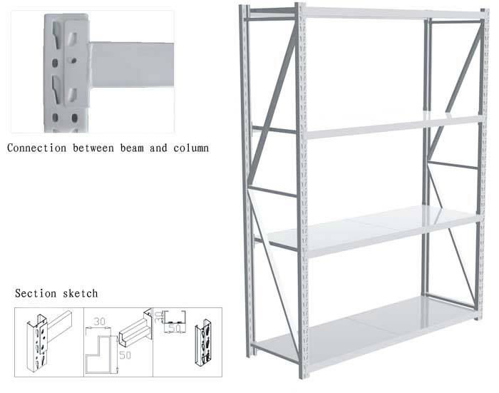 retail store display shelf from China supplier