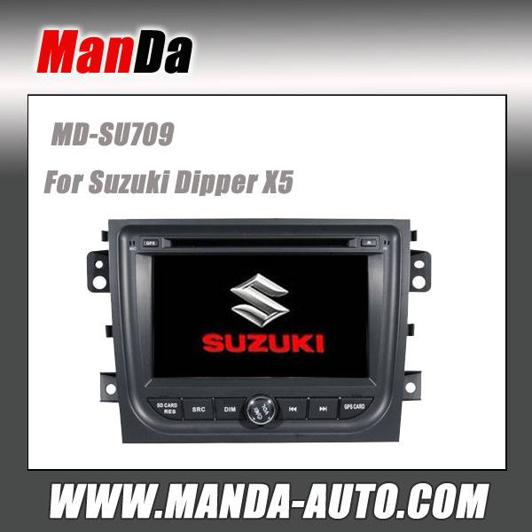 Manda 2 din car dvd for Suzuki Dipper X5 car dvd gps navigation indash head unit multimedia system