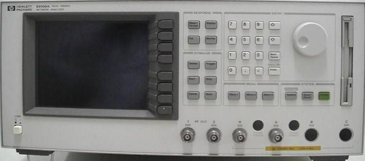 For Sale: Used Test Equipment Network Analyzer HP E5100A with option 002/006 $2,400