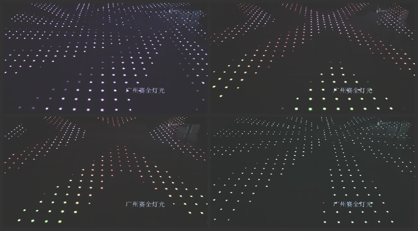Guangdong Wholesale optical illusions luminous lease hire suitable for fix installation and mobile u