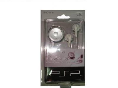 PSP earphone with remote controller