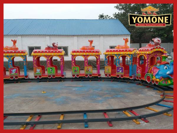 Professional factory manufacturer amusement park rides track train used indoor equipment for sale