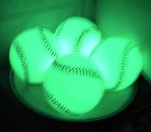 luminous baseball