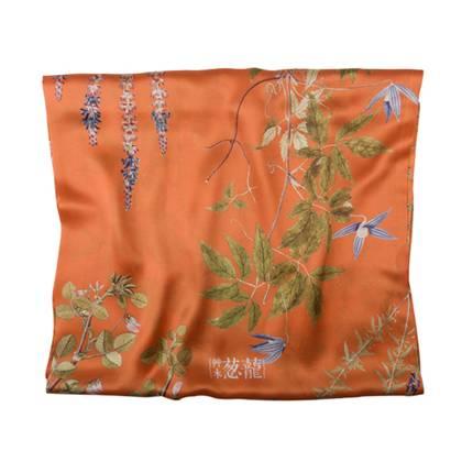high end silk scarf