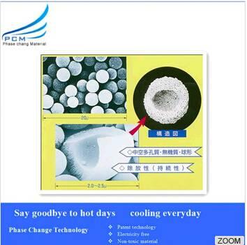 High-tech heat storage material-MicroPCM