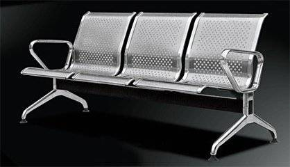 Perfoated Metal Chairs