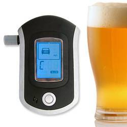 Personal LCD Alcohol Tester