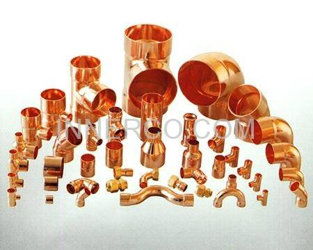 Copper elbow Coupling Tee U Bend