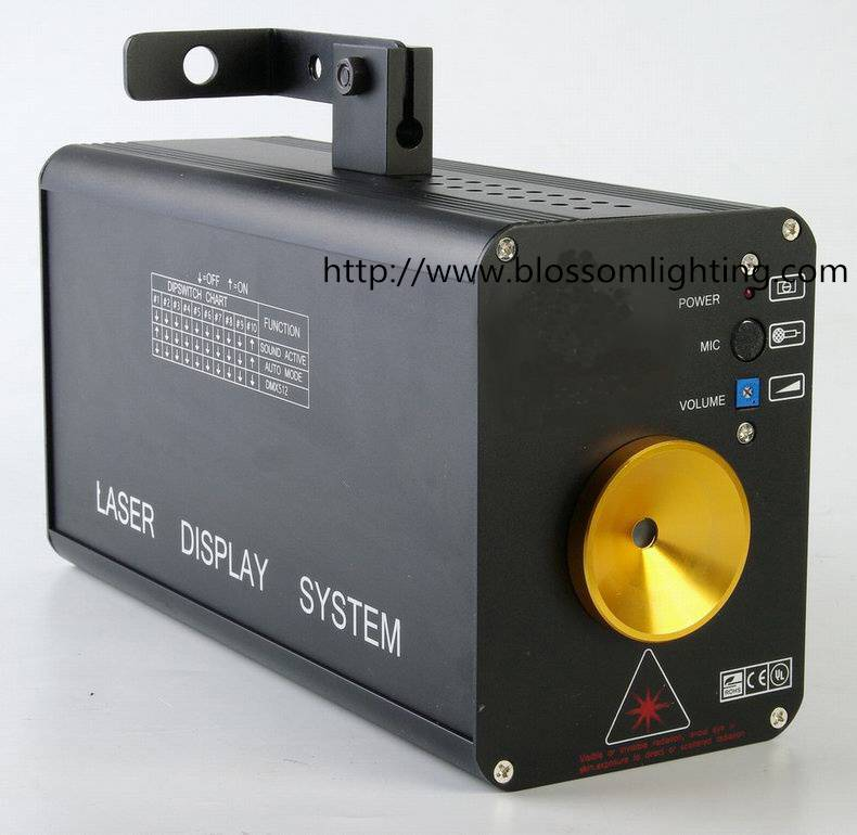 150mw Green, red and yellow twinkling laser light BS-6003