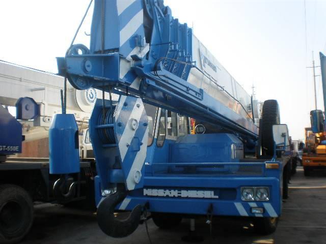 Used Terrain Crane TADANO 55ton