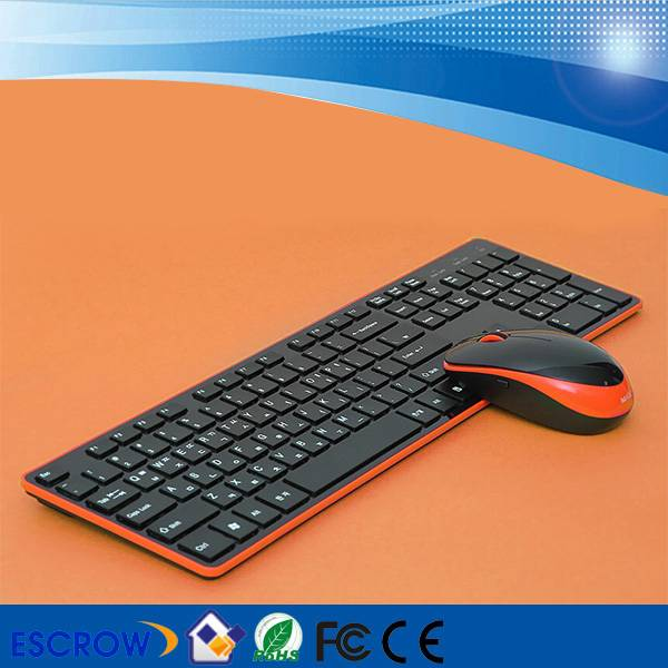 2.4G Wireless Keyboard and Wireless Mouse Combo