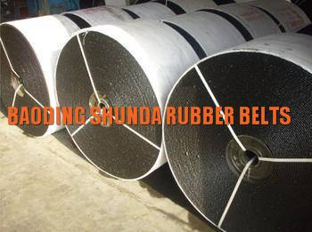 Abrasive Nylon/NN industrial endless rubber conveyor belt