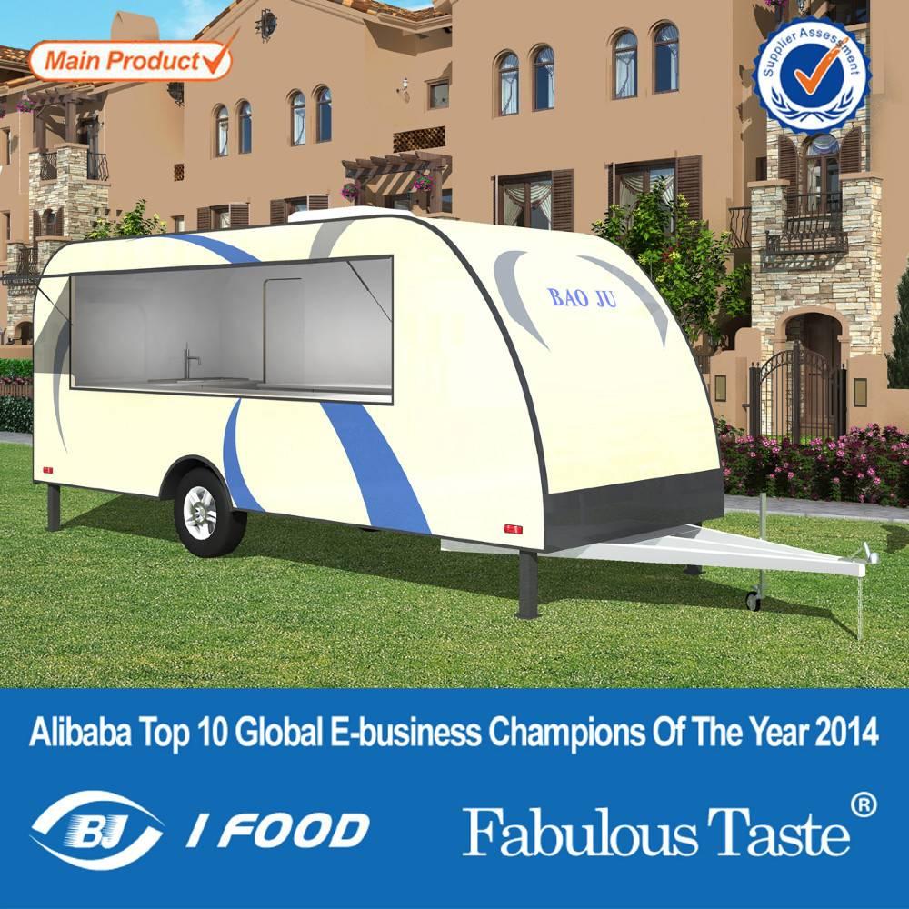 FV-78 best quality food vending carts food cart food trailer