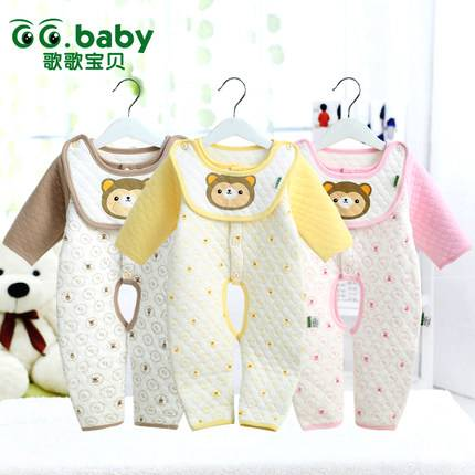 Spring/Autumn/Winter Long Sleeve Baby Romper Unisex Baby Boy Winter Jumpsuit Cotton Infant Baby Body